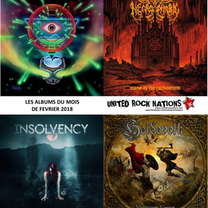 LES ALBUMS DU MOIS DE LA REDACTION de CORRODED, RANCID et THE DECLINE !